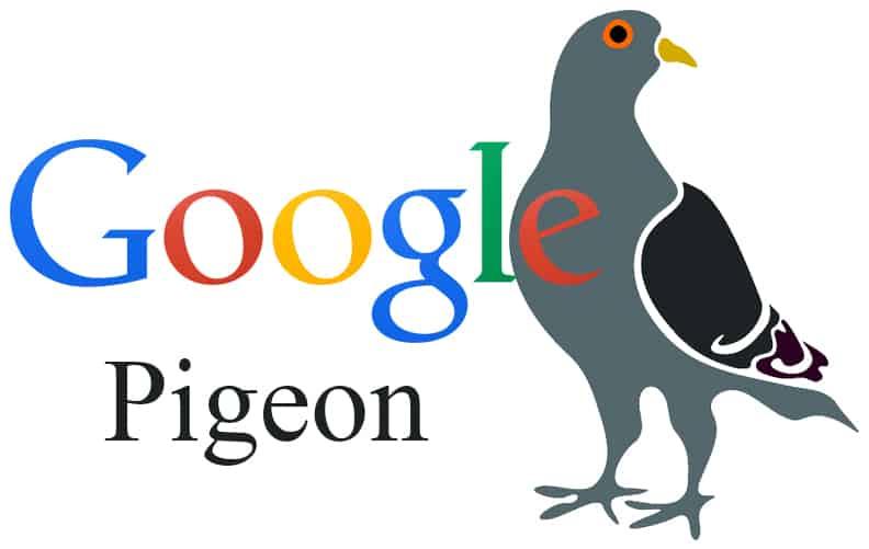 Pigeon oppdatering
